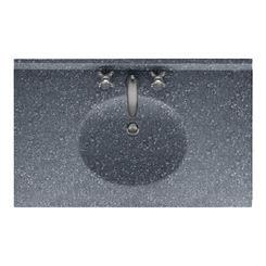 Click here to see Swanstone VT02225.012 Swanstone VT1B2225-012 Ellipse Vanity Top, 25