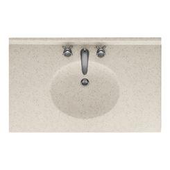 Click here to see Swanstone VT02237.046 Swanstone VT1B2237-046 Ellipse Vanity Top, 37
