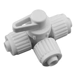 Click here to see Flair-It 06914 Flair-It 06914 PEX 3-Way Center Drain Valve - 1/2