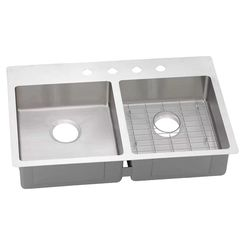 Click here to see Elkay ECTSRO33229RBGX Elkay ECTSRO33229RBGX 18 Gauge Stainless Steel Double Bowl Kitchen Sink