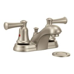 Click here to see Cleveland Faucet 41211BN Cleveland 41211BN Two-handle Bathroom Faucet in Brushed Nickel