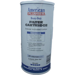 Click here to see American Plumber WGCHD American Plumber WGCHD 155153-51 Granular Carbon Filter