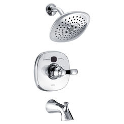 Click here to see Delta T14403-T2O Delta T14403-T2O Chrome Transitional Temp2O Tub/Shower