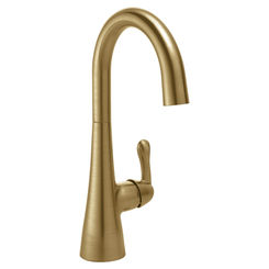 Click here to see Delta 1953LF-CZ Delta 1953LF-CZ Single-Handle Bar/Prep Sink Faucet, Champagne Bronze