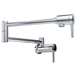 Click here to see Delta 1165LF Delta 1165LF Wall Mount Pot Filler Faucet, Chrome