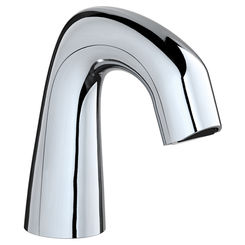 Click here to see Chicago Faucet EQ-D11A-KJKABCP Chicago Faucets EQ-D11A-KJKABCP EQ Chrome 243.145.AB.1 0.5 GPM (1.9 L/min) Non-Aerating Spray Cache Outlet EQ Curved Electronic Integral Spout Assembly