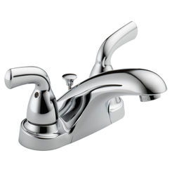 Click here to see Delta B2510LF-PPU Delta B2510LF-PPU Foundations Two-Handle Centerset Lavatory Faucet, Chrome