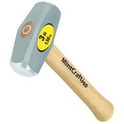 Click here to see Mintcraft 33705 Mintcraft Pro 33705 Drilling Hammers, Wood Handle, 3 Lbs Head Wt