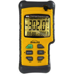 Click here to see Uei DT302 UEI Apollo II DT302 Dual-Input Digital Logging Thermometer