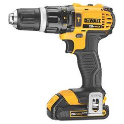 Click here to see Dewalt DCD785C2 Dewalt DCD785C2 Hammer Drill/Driver Kit, 20 V, Li-Ion