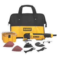 Click here to see Dewalt DWE315K DeWalt DWE315K Oscillating Multi-Tool Kit, 3 A, 0 - 22000 Rpm