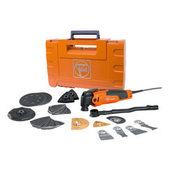 Click here to see Fein 72294261090 Fein Multimaster Multi-Tool Kit, 350 W, 10000 - 19500 Rpm