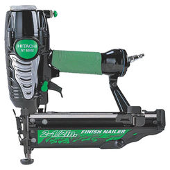 Click here to see Hitachi NT65M2(S) Hitachi NT65M2(S) Lightweight Finish Nailer, 100 Nails, 1 - 2-1/2 in 16 ga Adhesive Collated Nail