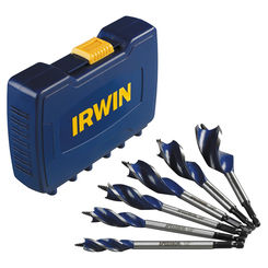 Click here to see Irwin 3041006 Speedbor Max 3041006 Drill Bit Set, 6 Pieces, 1/2 - 1-1/4 in