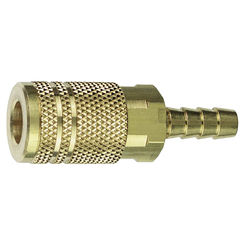 Click here to see Plews 13-266 Plews/Edelmann 13-266 Hose Coupling, 1/4 X 3/8 in, Barb, 300 psi, Brass