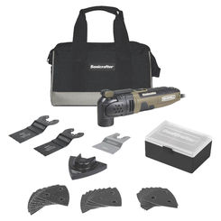 Click here to see Rockwell RK5121K Rockwell RK5121K Sonicrafter Oscillating Tools, 3 Amp