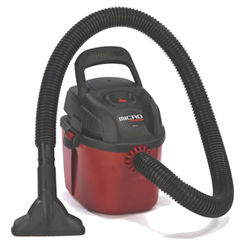 Click here to see Shop-Vac 2021000 Shop-Vac 2021000 Wet/Dry Wall Mount Corded Vacuum, 120 VAC, 6 A, 1.5 hp, 1 gal Tank, 98 cfm