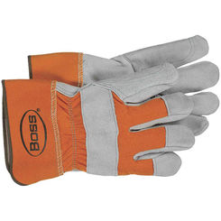 Click here to see Boss 2393 Boss 2393 Large Split Double Leather Palm Gloves
