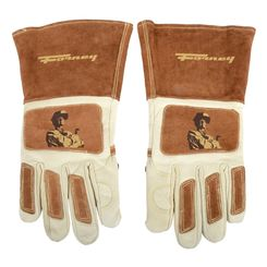 Click here to see Forney 53410 Forney 53410 Glove Welding Mens Leather Lrg
