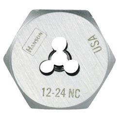 Click here to see Irwin 9332ZR Hanson 9332ZR Machine Screw Hexagonal Die, 12-24 NC, 1\