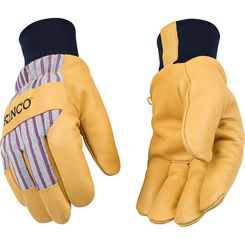 Click here to see Kinco 1927KW-XL Kinco 1927KW-XL Extra-Large Lined Grain Pigskin Leather Palm Gloves