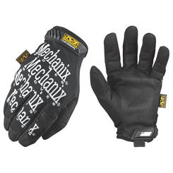 Click here to see Mechanix MG-05-011 MECHANIX MG-05 Mechanic Gloves, Size 11, X-Large, Clarino Synthetic Leather, Black