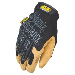 Click here to see Mechanix MG4X-75-011 MECHANIX MG4X-75 Mechanic Gloves, Size 11, X-Large, Material4X Synthetic Leather, Brown/Black