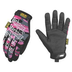 Click here to see Mechanix MG-72-530 MECHANIX MG-72 Mechanic Gloves, Women\'s, Large, TPR/Spandex, Pink Camo, Foam Padding Lining