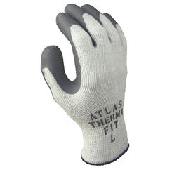 Click here to see Showa Atlas 451L-09.RT Atlas ThermaFit 451L-09.RT Ergonomic Work Gloves, Large, Gray