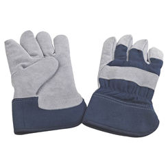 Click here to see Diamondback JF 6317 Diamondback JF 6317 Gloves, Men\'S Work - Insulated Leather Palm, Blue