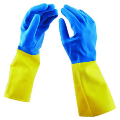 Click here to see Spontex 11951 Spontex 11951 Protector Gloves, Rubber, Small