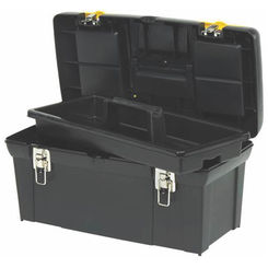 Click here to see Stanley 024013S Stanley 2000 Tool Box With Tray 10.92\