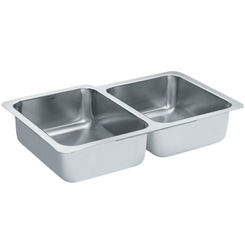Click here to see Moen S22397 Moen S22397 Double Bowl Sink