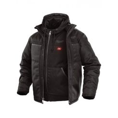 Click here to see Milwaukee 251B-21XL Milwaukee 251B-21XL Gridiron M12 3-in-1 Heated Jacket, Extra Large - Black