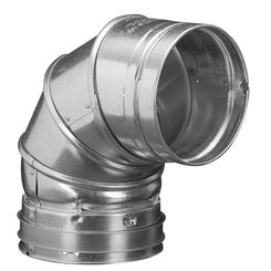 Click here to see M&G DuraVent 6GVL90 DuraVent 6GVL90 Type B Gas Vent 90-Degree Elbow