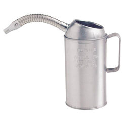 Click here to see Plews 75-441GS Plews 75-441GS Measure Can With Spill Proof Top 6-1/2 in H, Flexible