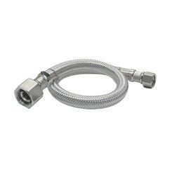 Click here to see Plumb Pak PP23818 Plumb Pak PP23818 EZ Faucet Supply Tube, 1/2 in, FIP, 20 in L, Stainless Steel