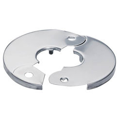 Click here to see Plumb Pak PP857-2 Plumb Pak PP857-2 Hinged Floor and Ceiling Plate, 3/8 in IPS, Chrome Plated