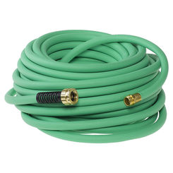 Click here to see Colorite SNSS58050 Swan SNSS58050 Soft & Supple Heavy Duty Garden Hose, 5/8 in ID 50 ft L, Rubber/Vinyl, Green