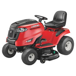 Click here to see MTD 13AAA1KT066 Troy-Bilt 13AAA1KT066 Hydrostatic Riding Lawn Mower, 46 in W, 17.5 hp, 656 cc