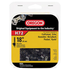 Click here to see Oregon H72 Oregon H72 Premium Replacement Chain Saw Chain, 3/8 in X 18 in