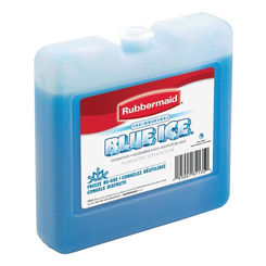 Click here to see Rubbermaid 1034TL220 Blue Ice 1034TL220 Ice Pack, For Use With Larger Chests, 7 X 1-1/2 X 6-3/4 in, Plastic Container