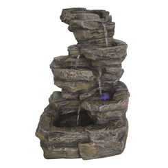 Click here to see Seasonal Trends Y95493 Seasonal Trends Y95493 Stonewall Fountain With Light