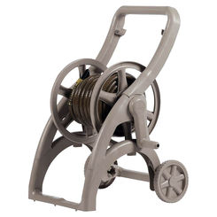 Click here to see Ames 2418900 Ames ReelEasy 2418900 Smooth Side Hose Reel Cart, 5/8 in X 175 ft Hose, 21-3/4 in W X 23 in D, Poly