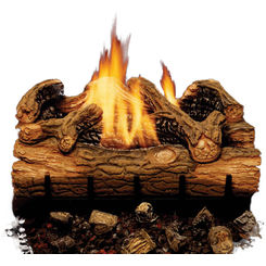 Click here to see MHSC EYF24-F Majestic EYF24-F Charred Hickory Vent-Free Gas Log Set