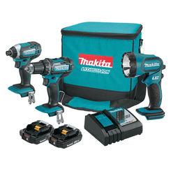 Click here to see Makita CT320R Makita CT320R 18V LXT Lithium-Ion Compact Cordless 3-Pc. Combo Kit (2.0Ah)