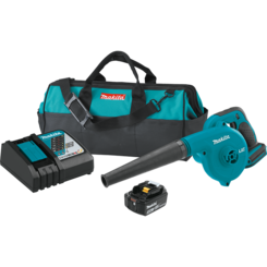 Click here to see Makita DUB182T1 Makita DUB182T1 18V LXT Lithium-Ion Cordless Blower Kit (5.0Ah)