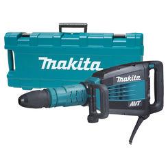 Click here to see Makita HM1214C Makita HM1214C 27 lb. AVT Demolition Hammer, accepts SDS-MAX bits