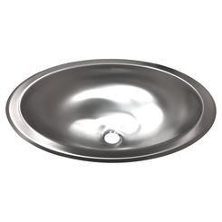 Click here to see Kohler 2608-SU-NA KOHLER K-2608-SU-NA Bachata Drop-in/undermount Bathroom Sink with Luster Finish, No Overflow