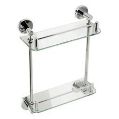 Click here to see Alfi AB9549 ALFI AB9549 Double-Glass Shower Shelf